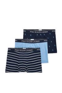 POLO Ralph Lauren boxershort (set van 3), Donkerblauw/lichtblauw