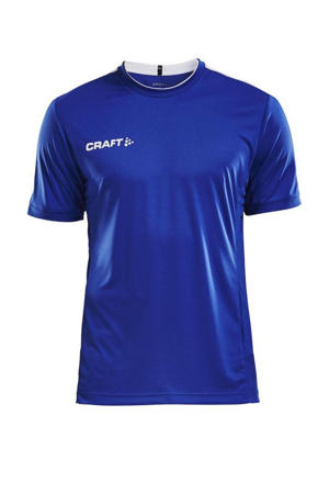 Senior  sport T-shirt blauw