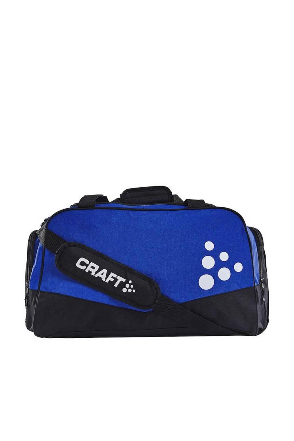 Craft   sporttas Squad Duffel L kobaltblauw, Blauw