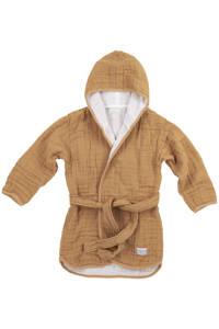 Meyco   hydrofiele badjas Uni warm sand, Warm Sand