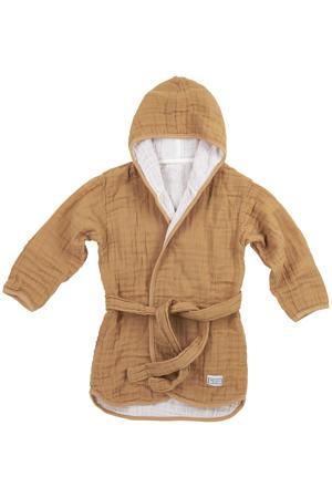 hydrofiele badjas Uni warm sand