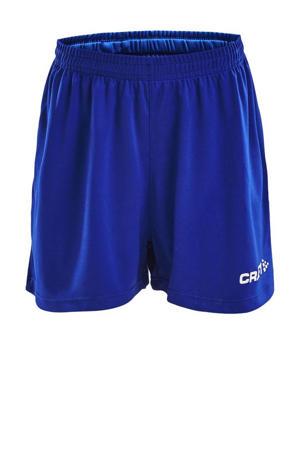 Junior  sportshort blauw