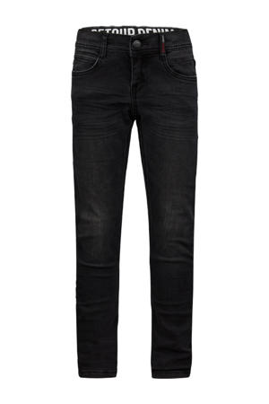 regular fit jeans Tobias black denim