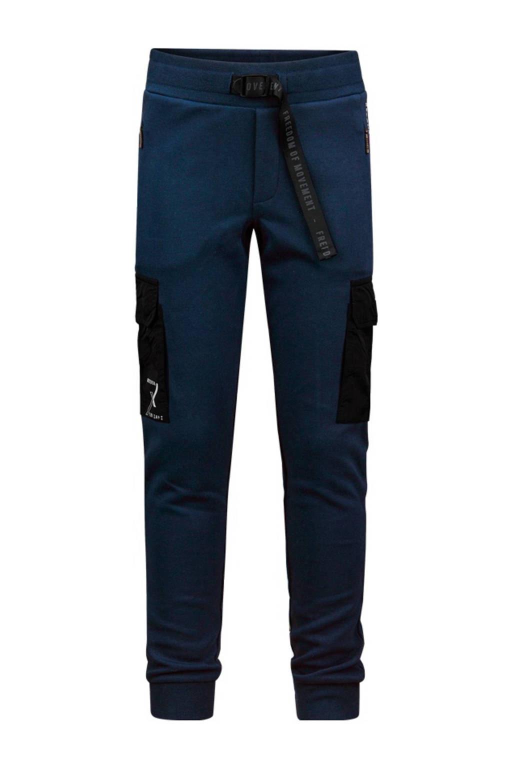 Retour Denim Retour Jeans x Touzani joggingbroek Kick donkerblauw, Donkerblauw