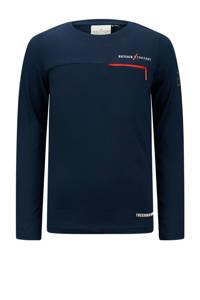 Retour Denim Retour Jeans x Touzani longsleeve Goal van biologisch katoen donkerblauw, Donkerblauw