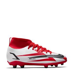 Mercurial Superfly 8 club CR 7 MG Jr. voetbalschoenen rood/zwart/wit