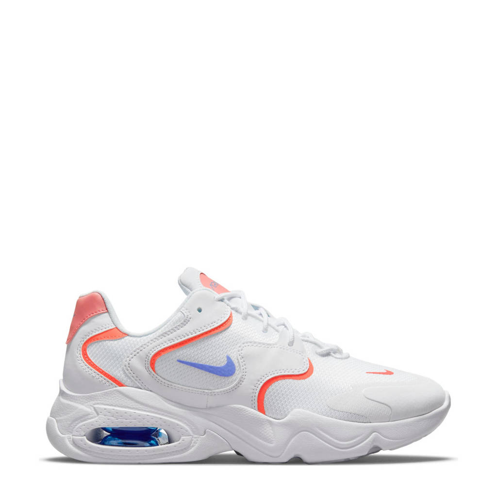 Nike AIir Max 2X sneakers wit/blauw/rood, Wit/blauw/rood