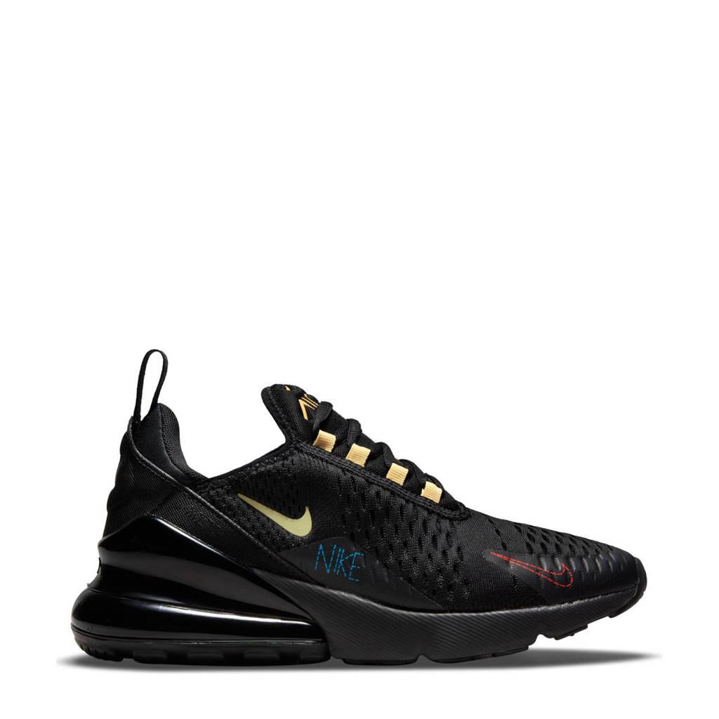 Nike Air Max 270 sneakers zwart/geel/rood, Zwart/geel/rood