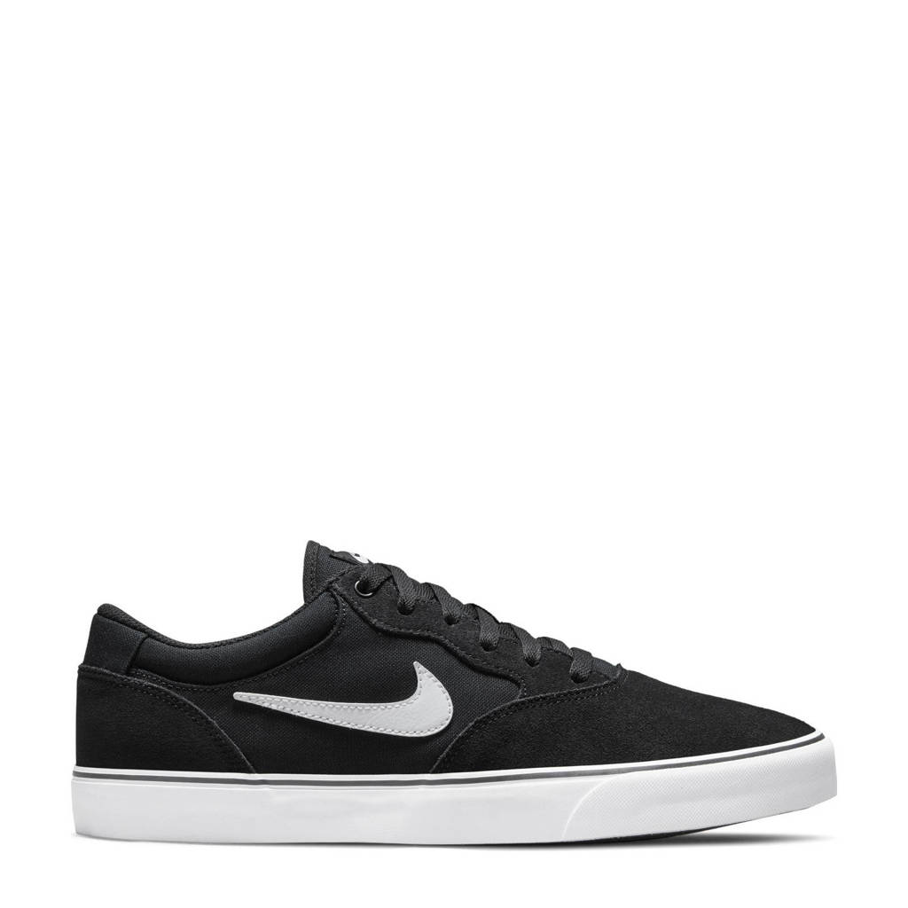 Nike SB Chron 2 sneakers zwart/wit, Zwart/wit