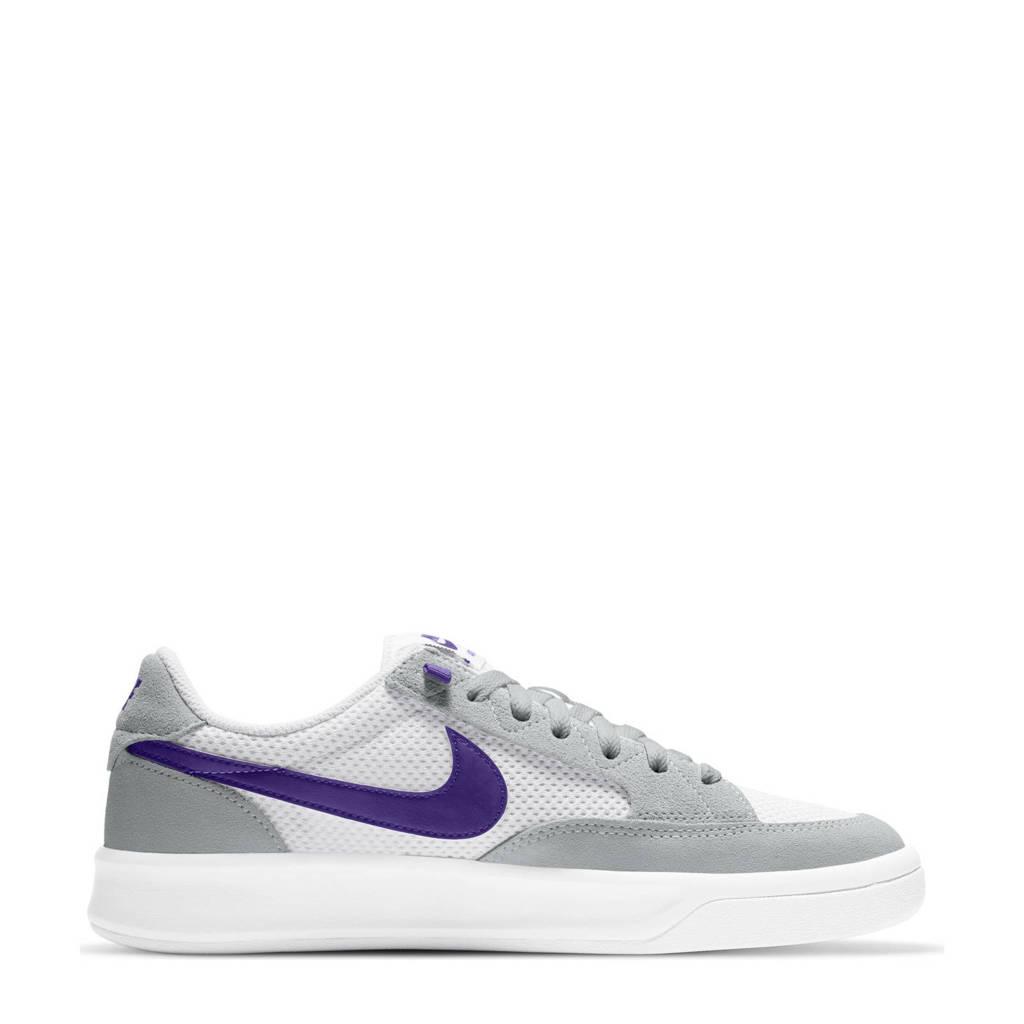 Nike SB Adversary sneakers grijs/paars/wit, Grijs/paars/wit