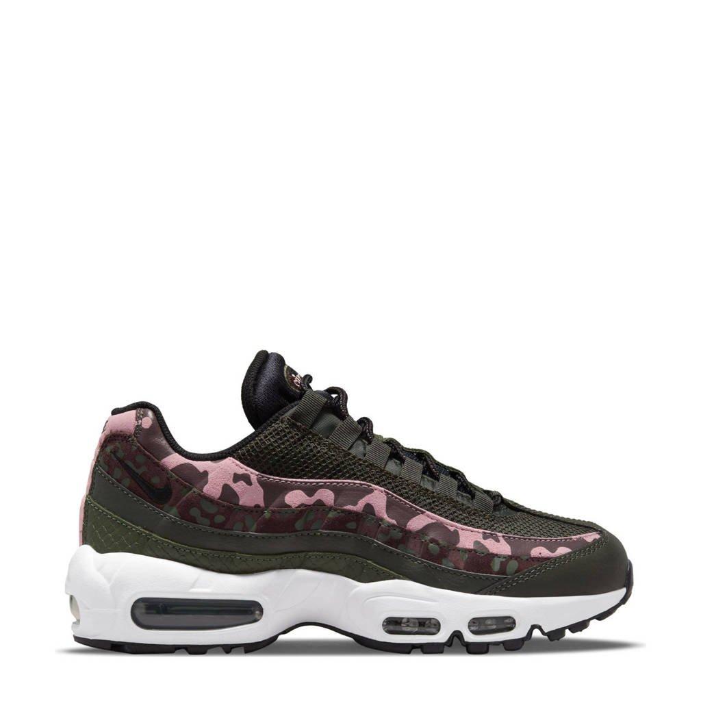 Nike Air Max 95 sneakers bruin/zwart/roze, Bruin/zwart/roze