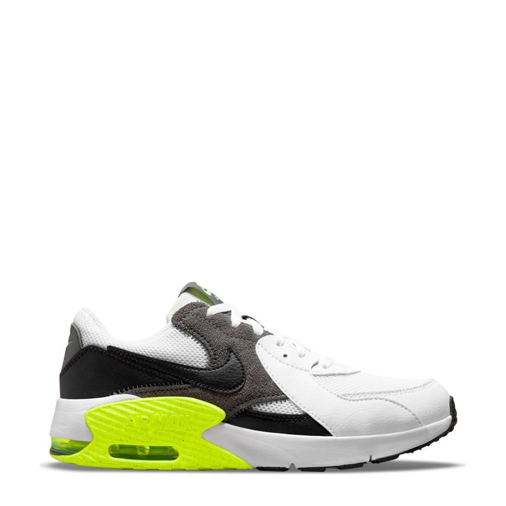 Nike Air Max Excee (GS) sneakers wit/zwart/grijs/geel, Wit/zwart/grijs/geel
