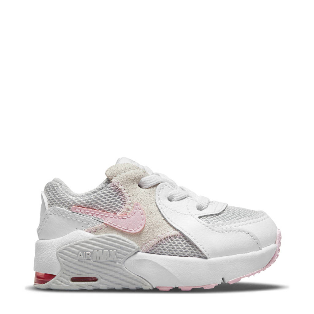 Nike Air Max Excee sneakers wit/roze/grijs, Wit/roze/grijs