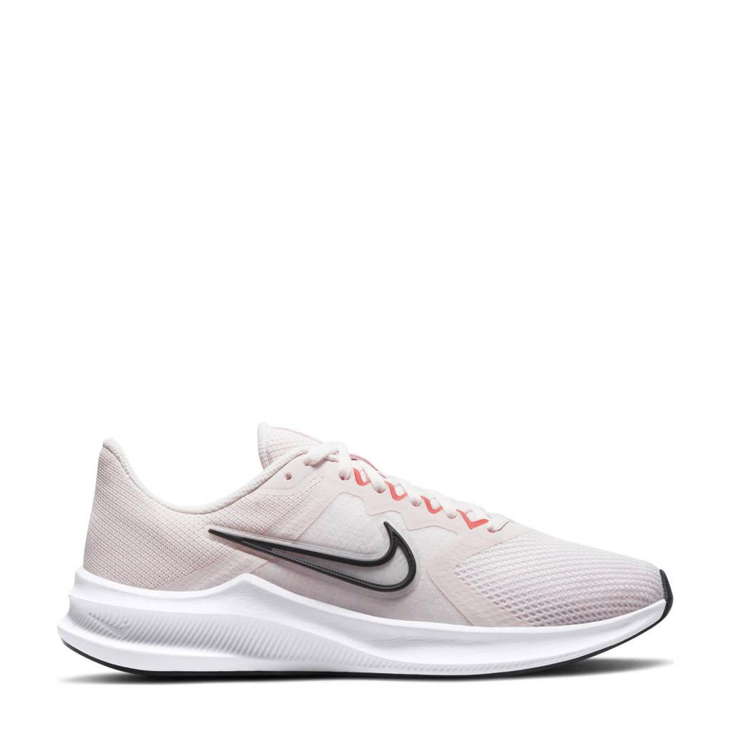 Nike Downshifter 11 hardloopschoenen lichtroze/wit/oranje