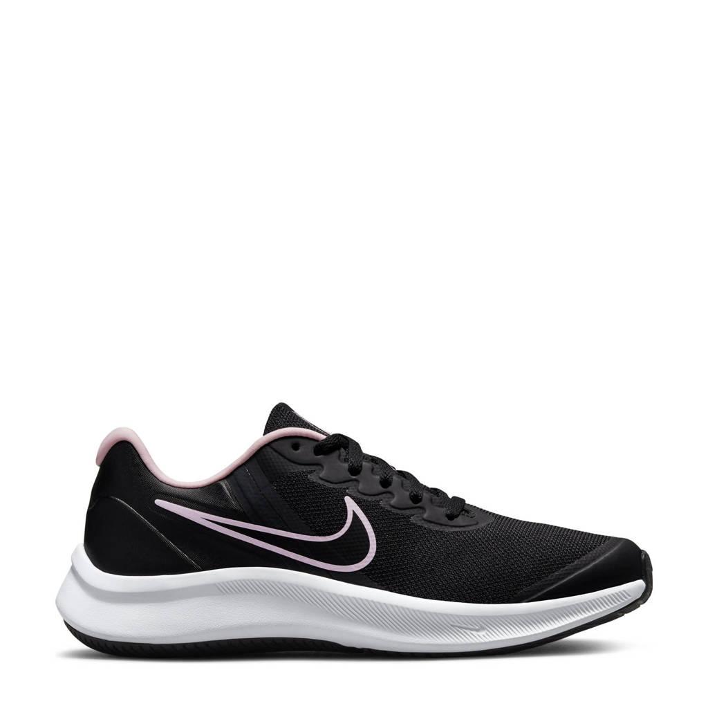 Nike Star Runner  3 sneakers zwart/grijs/roze, Zwart/grijs/roze