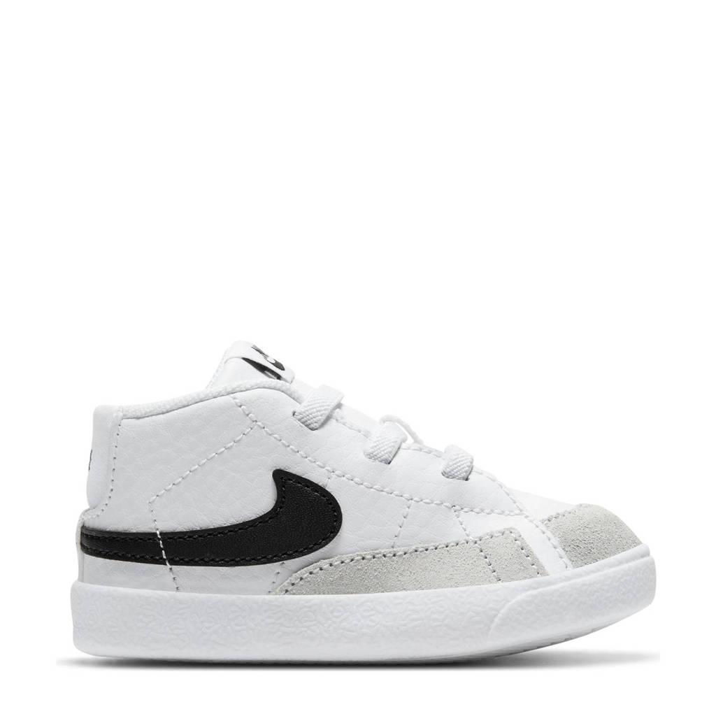Nike Blazer Mid sneakers wit/zwart, Wit/zwart