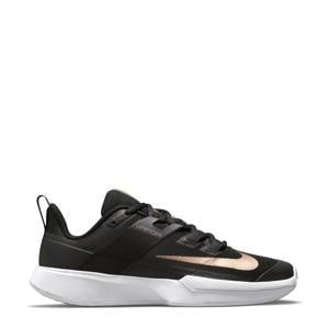 NikeCourt Vapor Lite HC tennisschoenen zwart/brons/wit