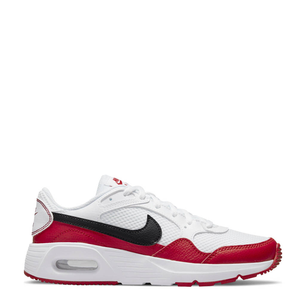 Nike Air Max SC sneakers wit/zwart/rood, Wit/zwart/rood