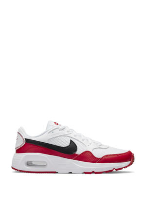 Air Max SC sneakers wit/zwart/rood