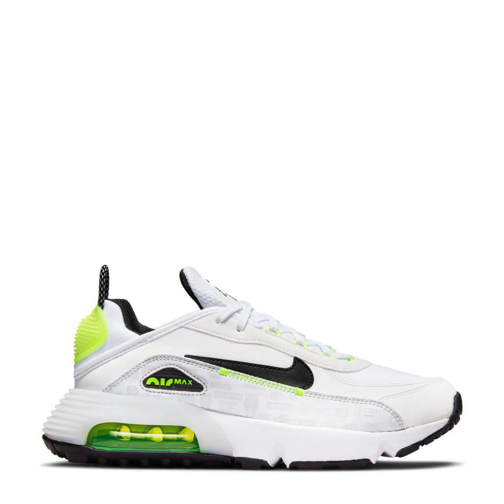 Nike Air Max 2090 C/S sneakers zwart/grijs/geel, Wit/grijs/geel