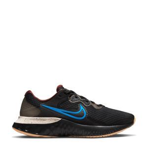 Renew Run 2 hardloopschoenen zwart/blauw/ecru