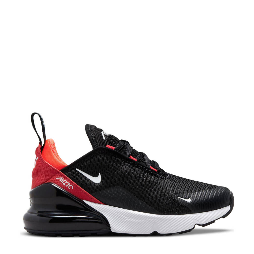 Nike Air Max 270 sneakers zwart/wit/rood, Zwart/wit/rood