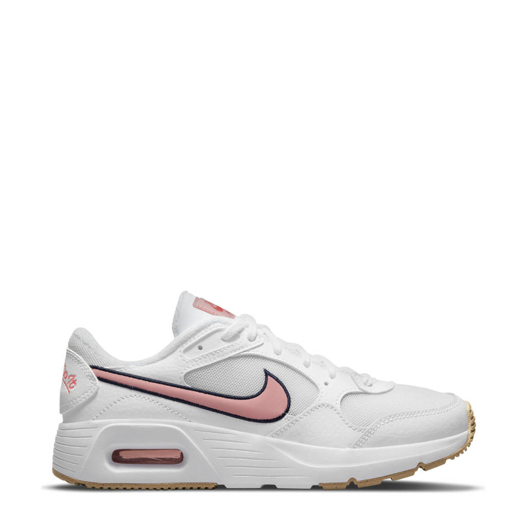 Nike Air Max SE sneakers wit/roze, Offwhite/roze