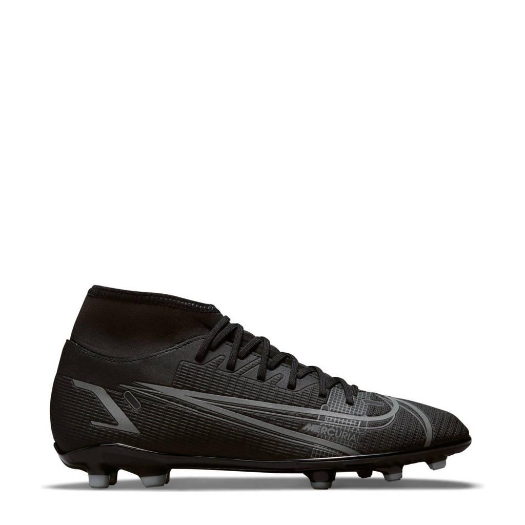 Nike Superfly 8 Club FG/MG voetbalschoenen zwart/antraciet, Zwart/antraciet