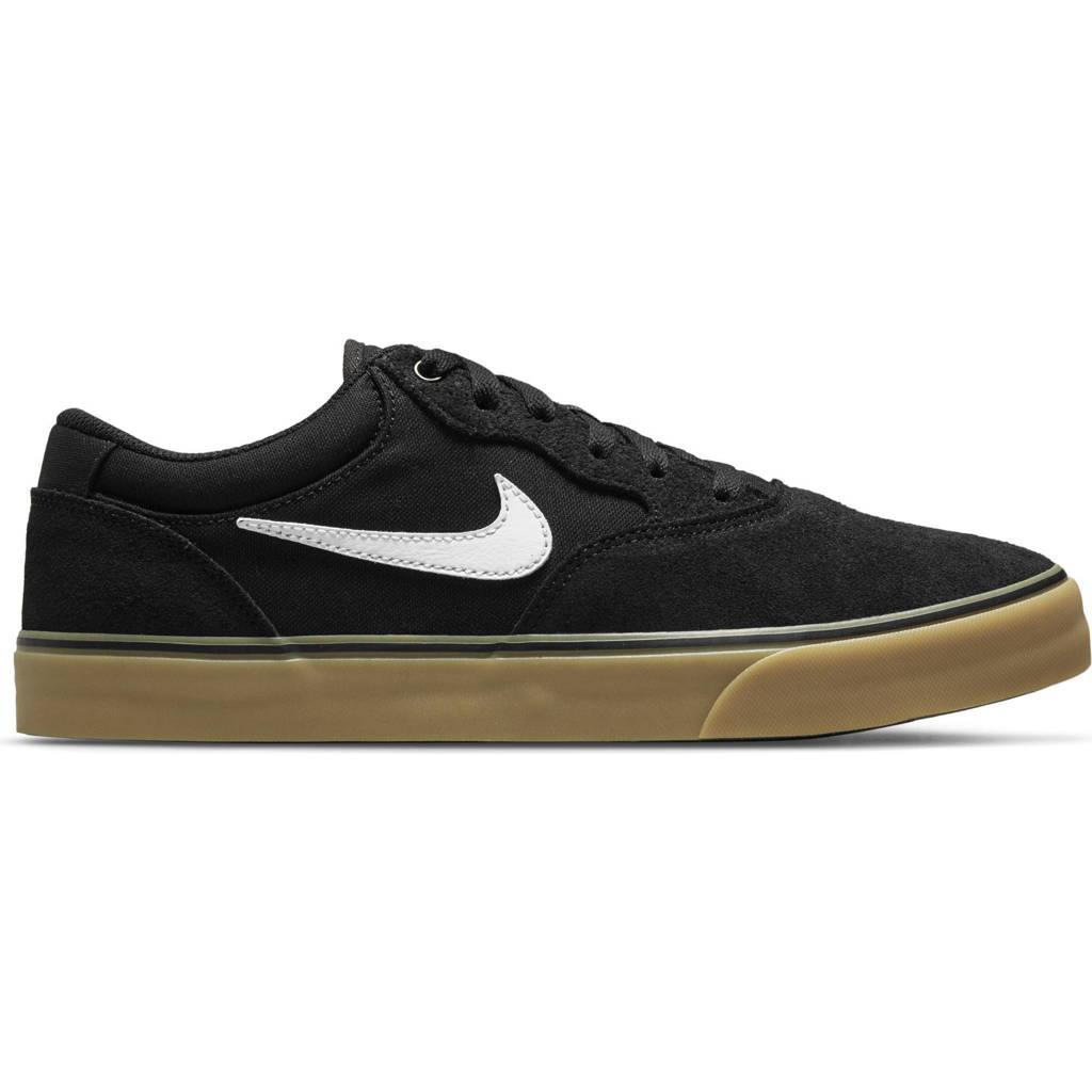 Nike SB Chron 2 sneakers zwart/wit/lichtbruin, Zwart/wit/lichtbruin