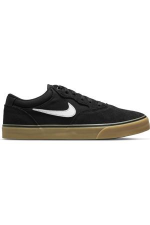 SB Chron 2 sneakers zwart/wit/lichtbruin