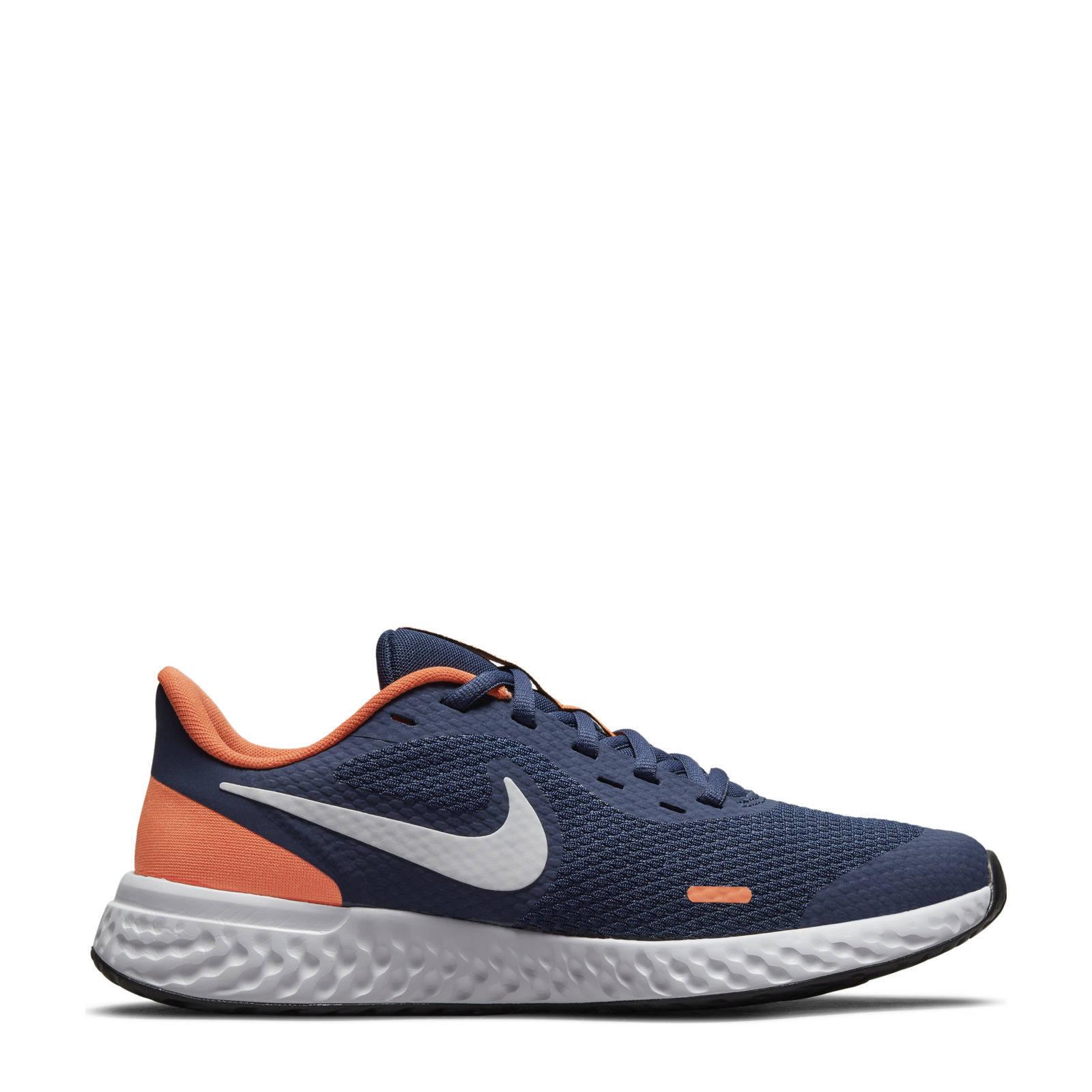 Nike Kids Nike Revolution 5 Hardloopschoenen voor kids (straat) Blauw online kopen