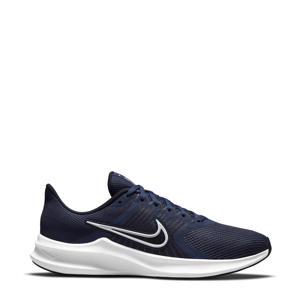 Downshifter 11 hardloopschoenen donkerblauw/wit