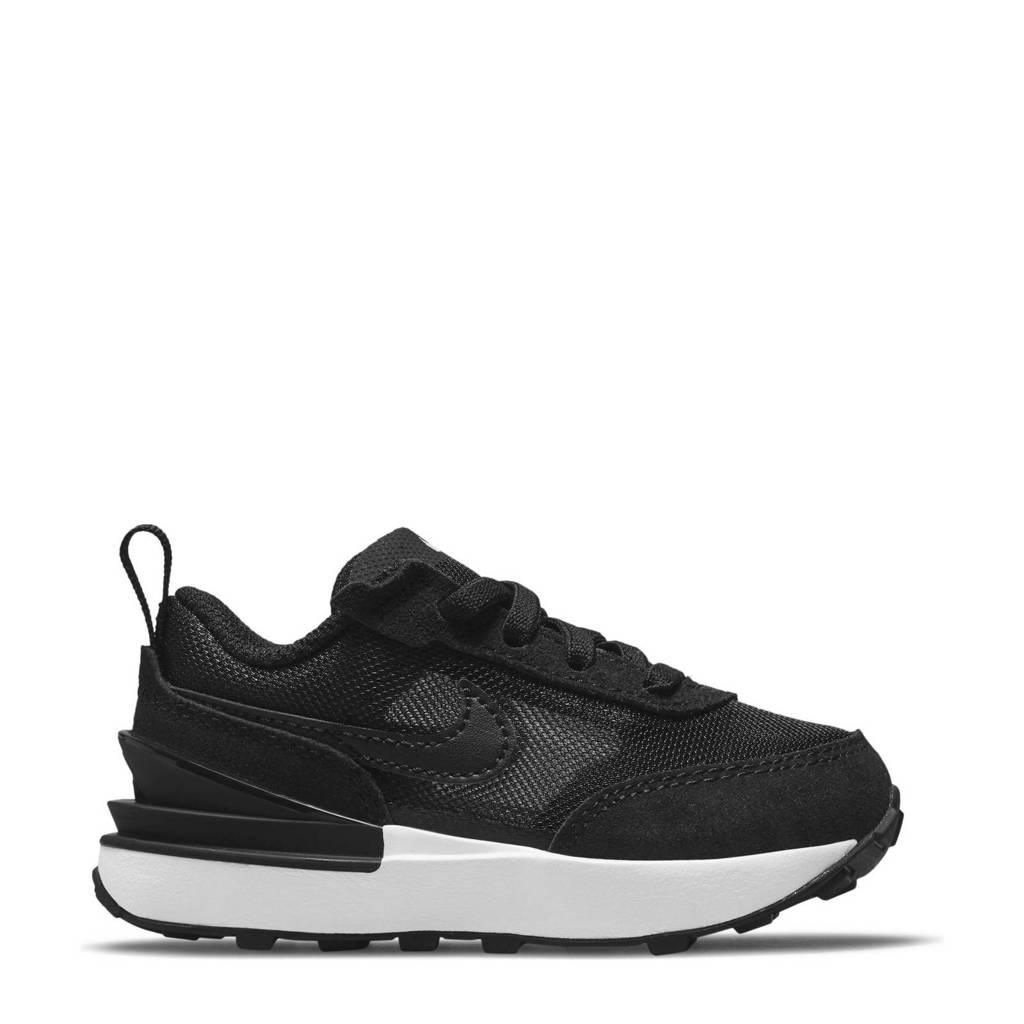 Nike Waffle One  sneakers zwart/wit/oranje, Zwart/wit/oranje