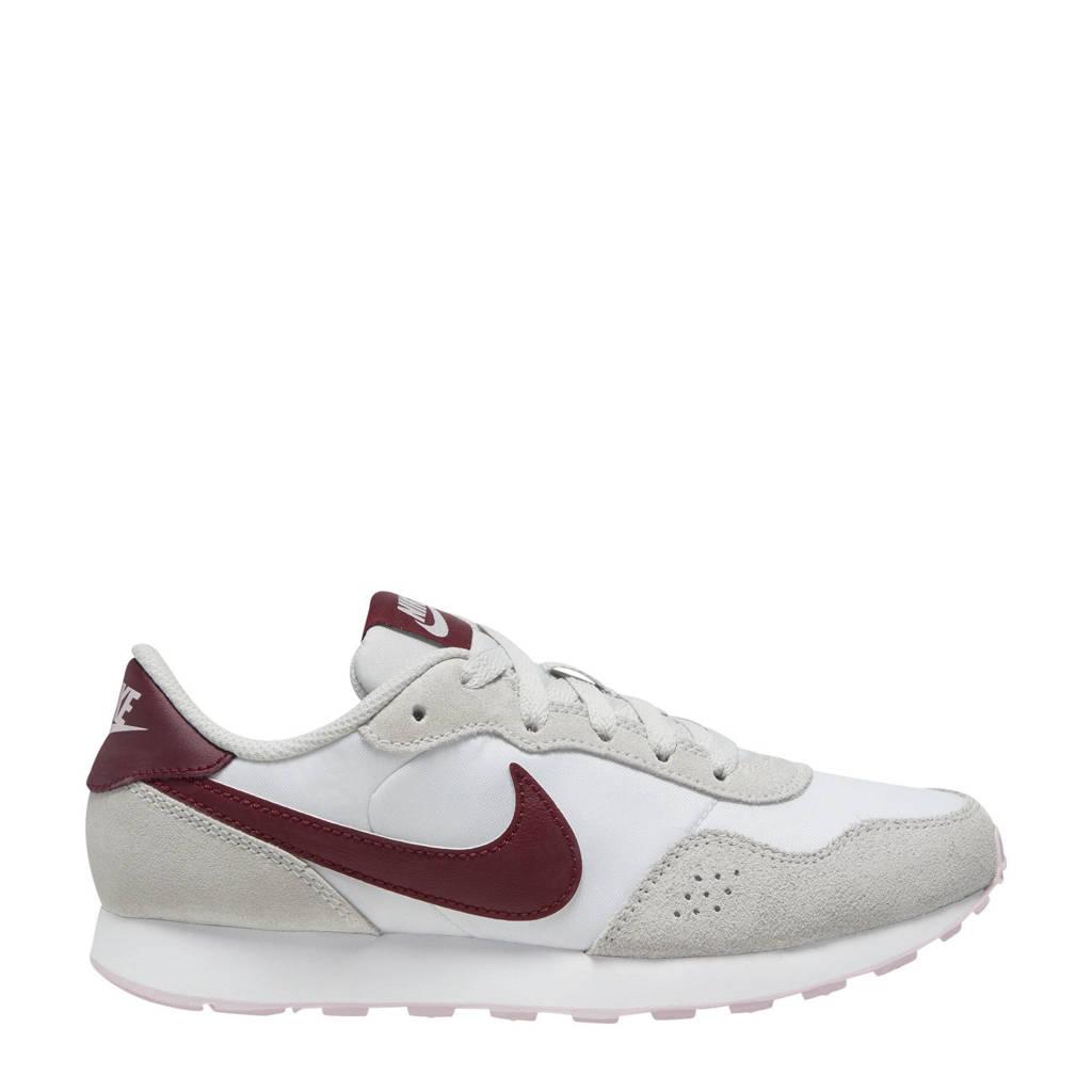 Nike MD Valiant  sneakers wit/donkerrood/grijs