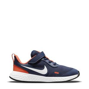Revolution 5 sneakers donkerblauw/wit