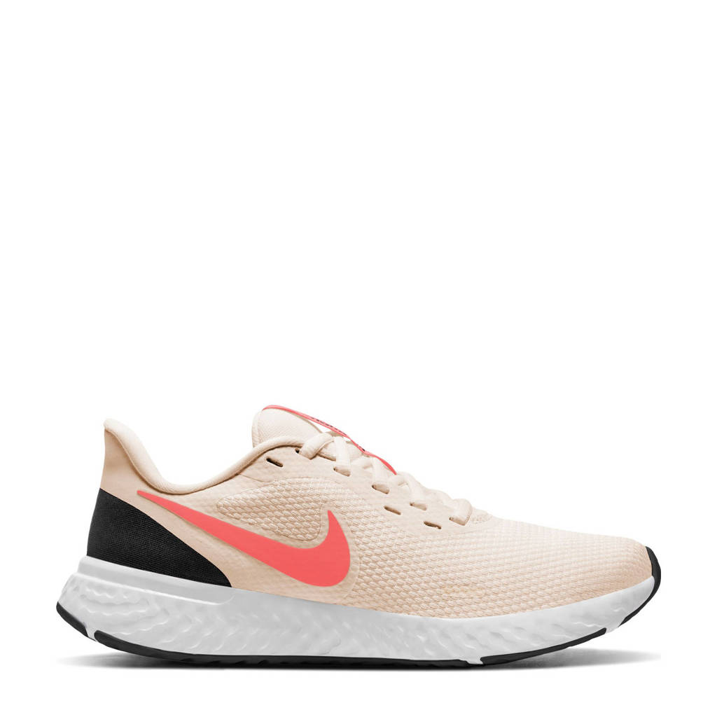 Nike Revolution 5 hardloopschoenen lichtroze/oranje/zwart, Lichtroze/oranje/zwart