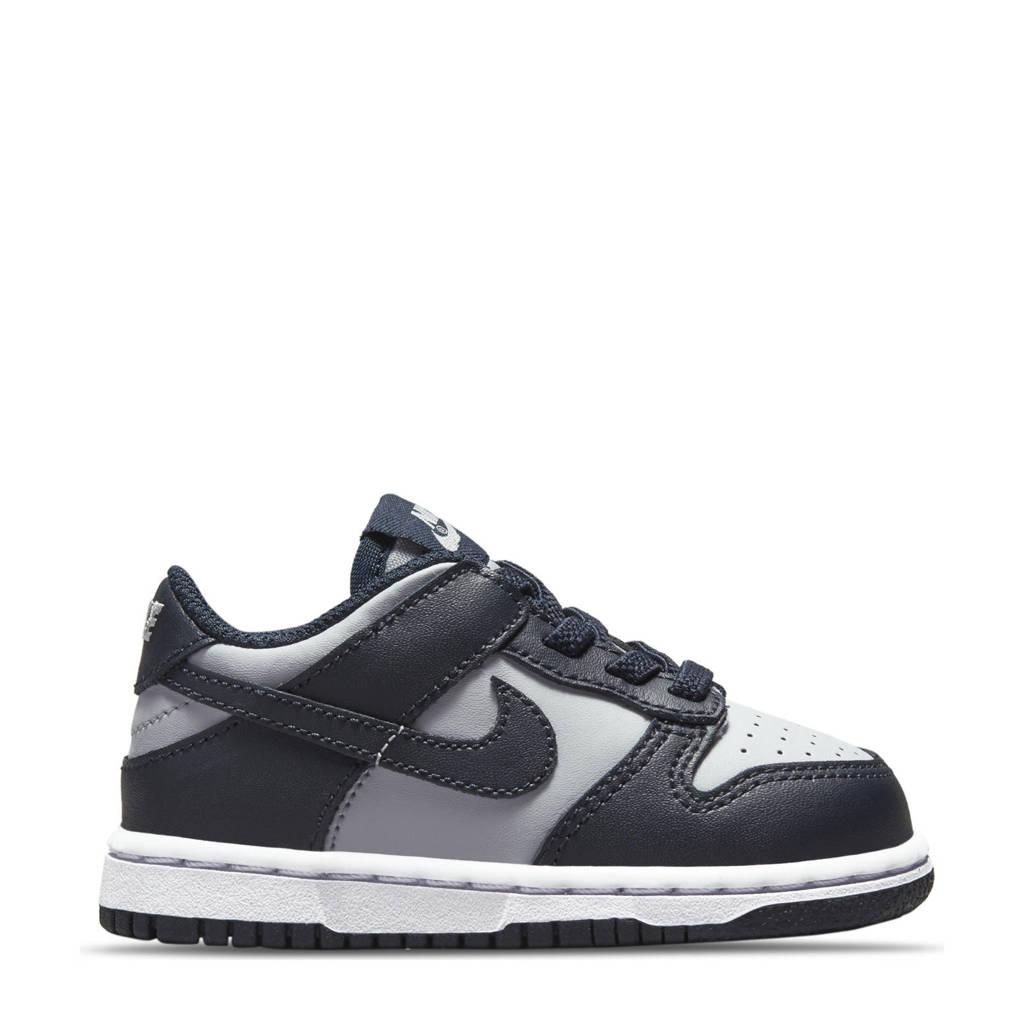 Nike Dunk Low sneakers grijs/donkergrijs/oranje