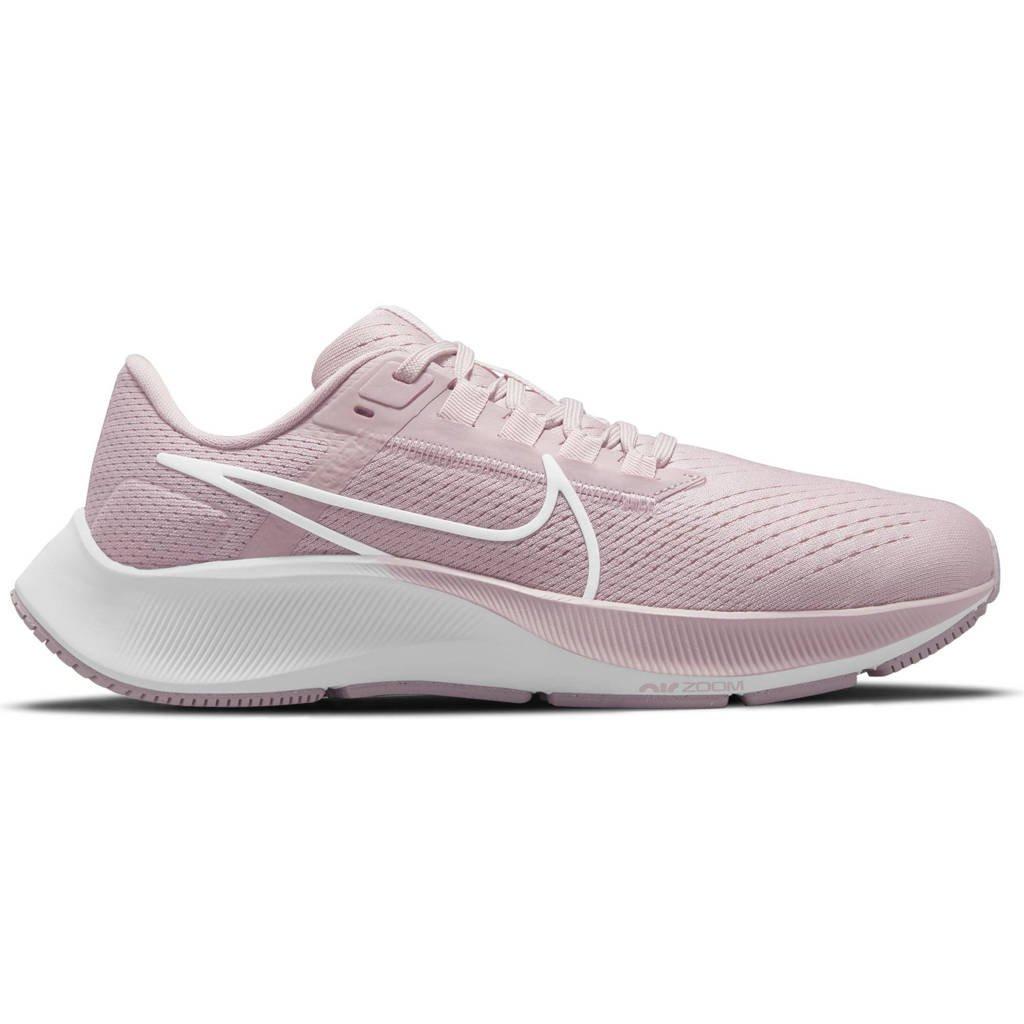 Nike Air Zoom Pegasus 38 hardloopschoenen oudroze/wit, Oudroze/wit