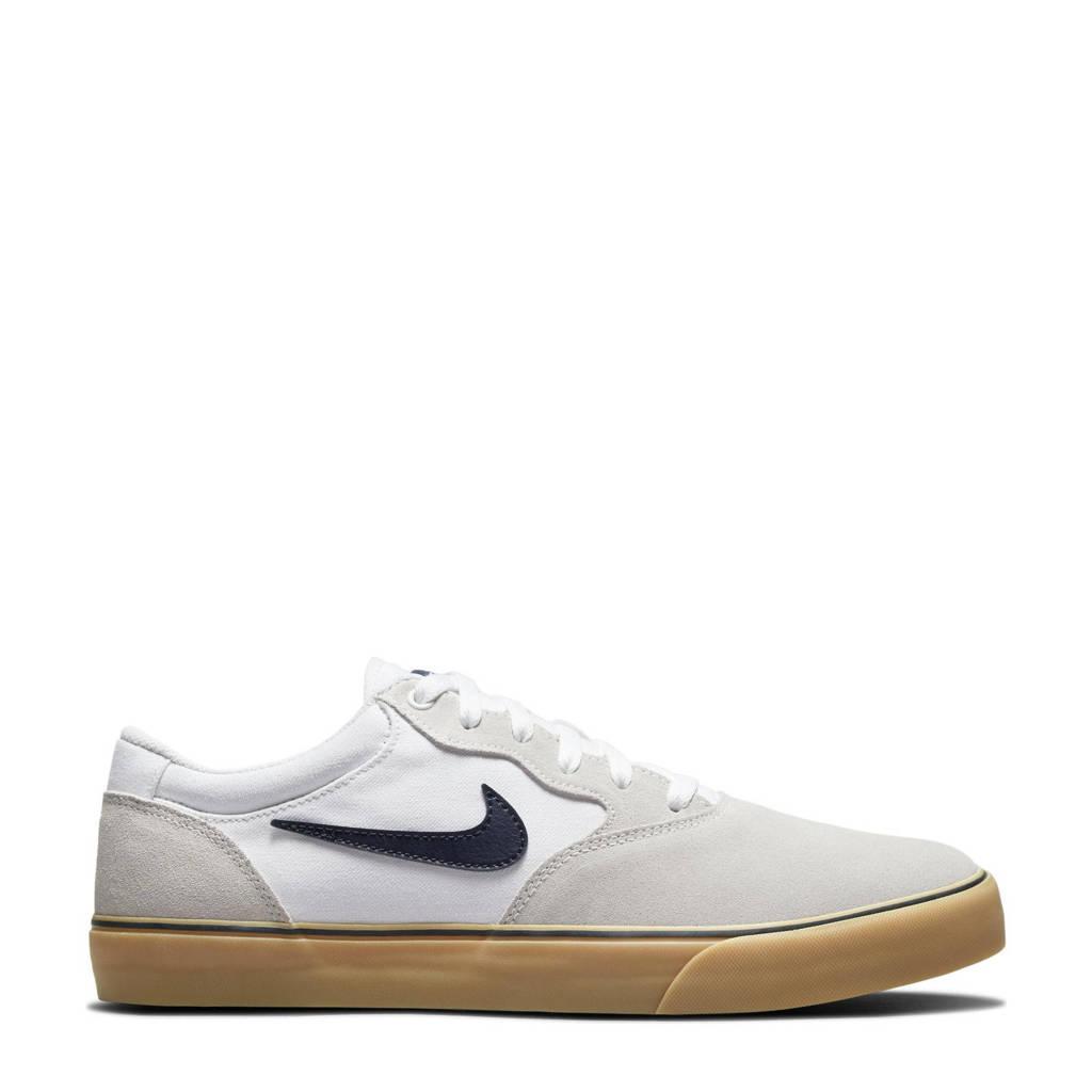Nike SB Chron 2 sneakers wit/donkerblauw, Wit/donkerblauw