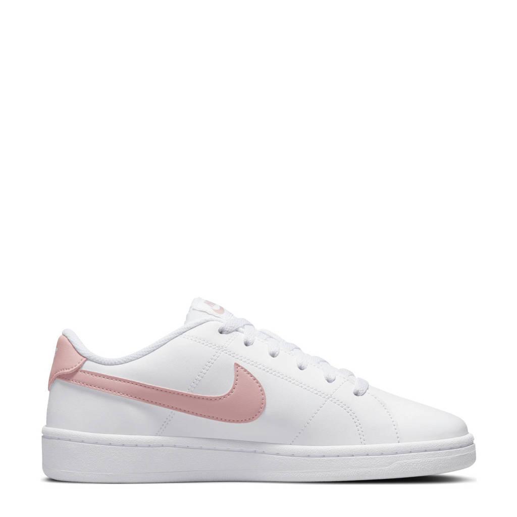 Nike Court Royale 2 sneakers wit/roze, Wit/roze