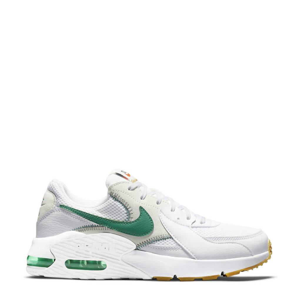 Nike Air Max Excee sneakers wit/groen, Wit/groen