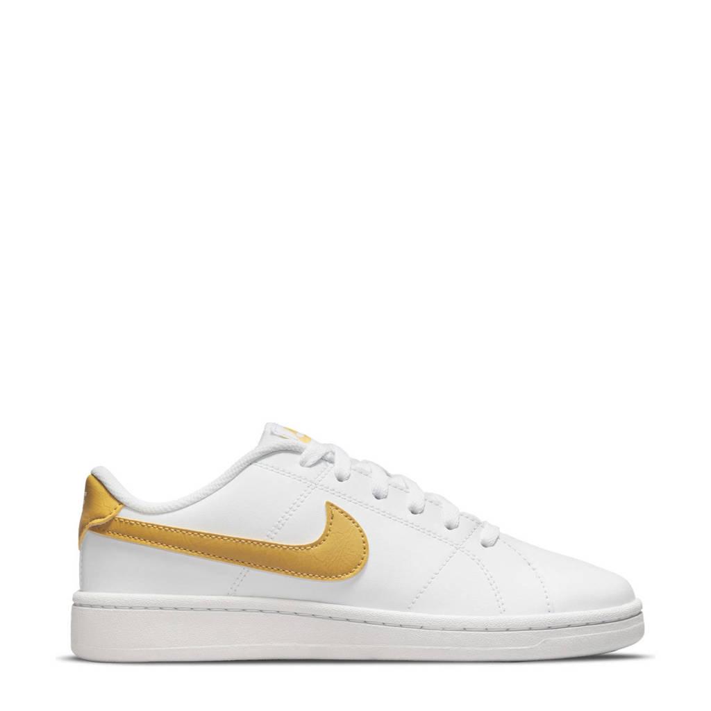 Nike Court Royale 2 sneakers wit/goud, Wit/goud