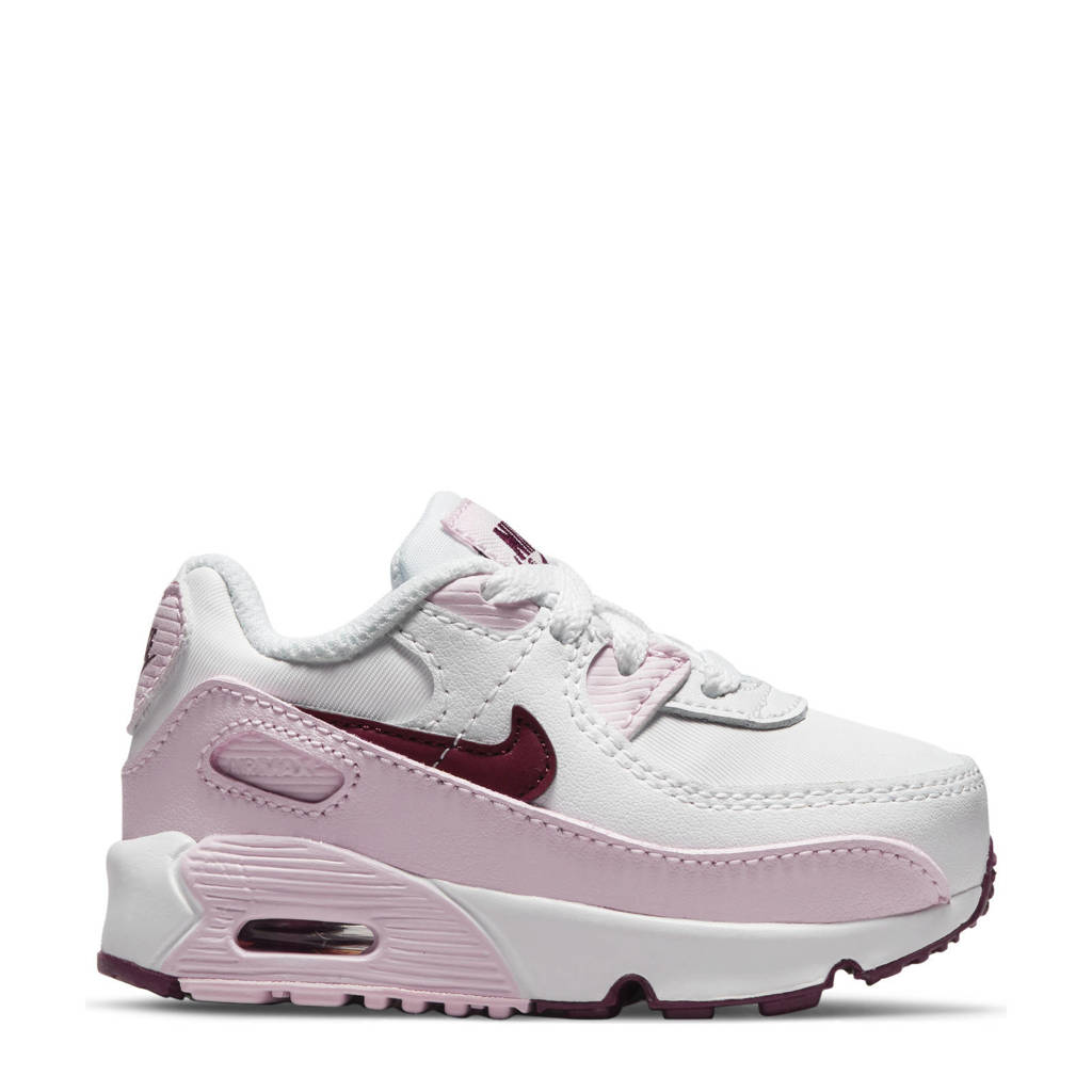 Nike Air Max 90  sneakers wit/roze, Wit/roze