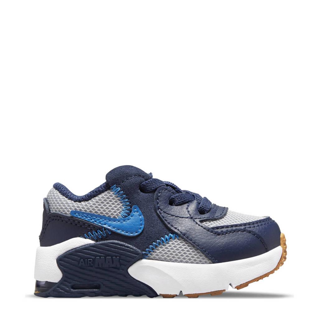 Nike Air Max Excee sneakers antraciet/kobaltblauw/donkerblauw