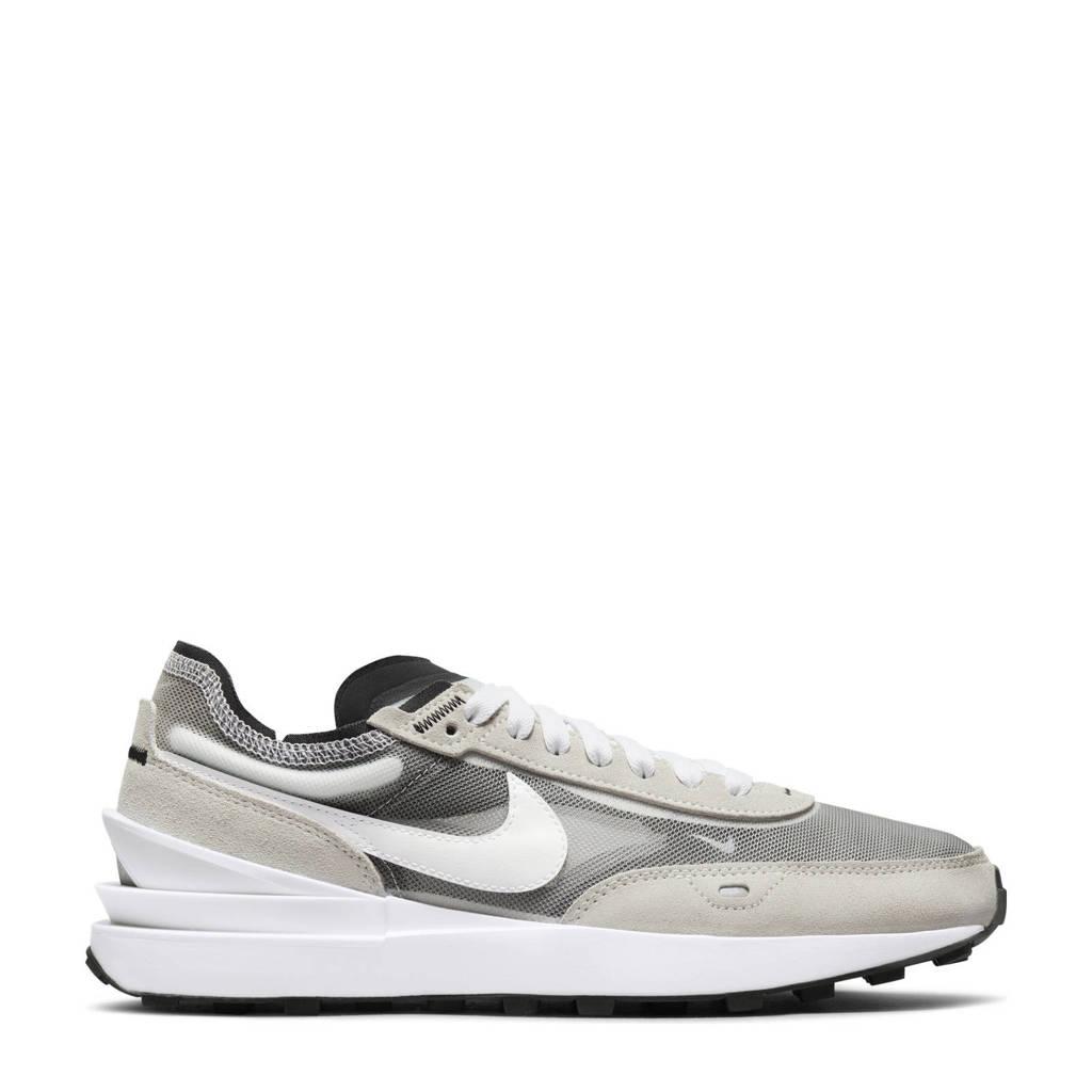 Nike Waffle One  sneakers wit/ecru/zwart, Wit/ecru/zwart