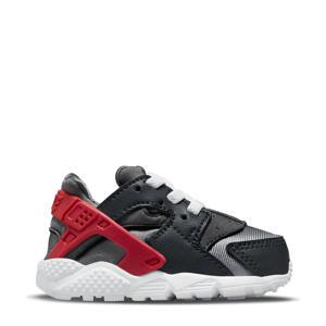 Huarache Run  sneakers zwart/rood/wit
