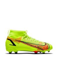 Nike Superfly 8 Academy FG/MG Jr. voetbalschoenen felgeel/rood, Felgeel/rood