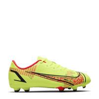 Nike Vapor 14 Academy FG/MG Jr. voetbalschoenen geel/rood, Geel/rood