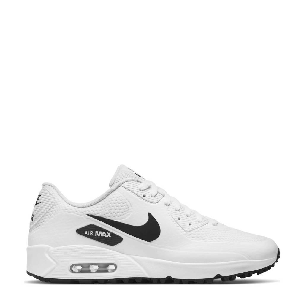 Nike Air Max 90 sneakers wit/zwart, Wit/zwart