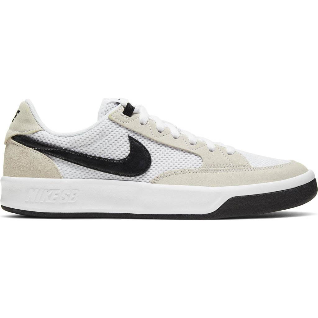 Nike SB Adversary sneakers wit/zwart, Wit/zwart